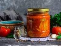 салат из кабачков с перцем рецепт на зиму