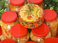 салат кабачки с рисом на зиму рецепты