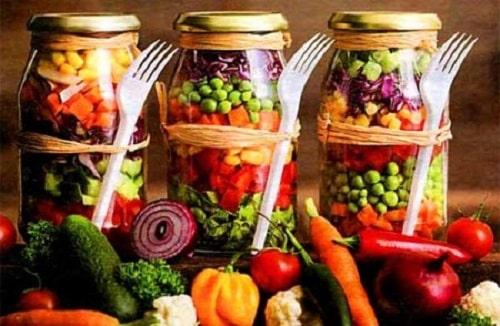 салат огород на зиму рецепт