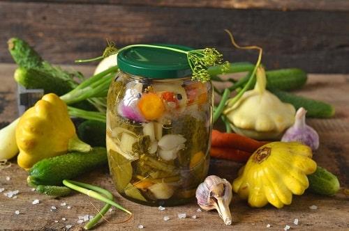 салат огород рецепты на зиму