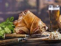свиная рулька на мангале рецепт