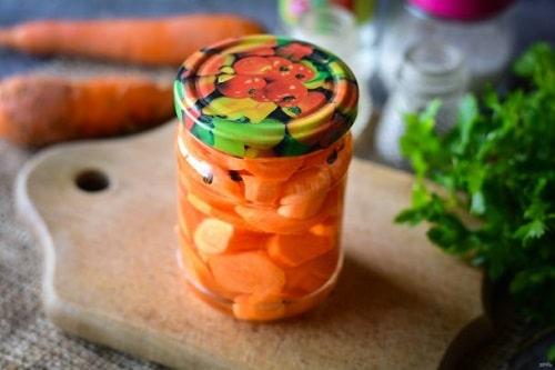 как мариновать морковь на зиму