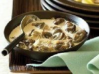 как приготовить белые грибы в сметане на сковороде