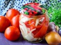 как заготовить резаные помидоры на зиму