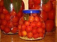 как заготовить сладкие маринованные помидоры