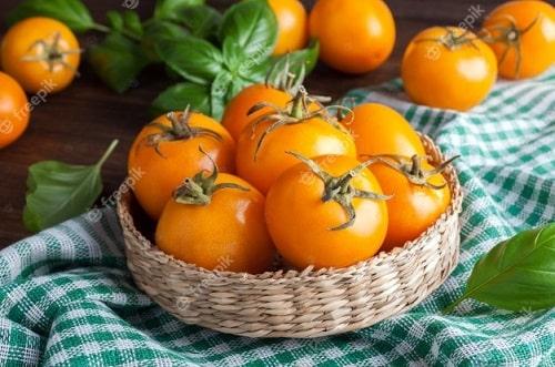 как заготовить желтые помидоры на зиму