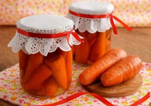 маринованная морковка на зиму