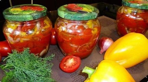 маринованные резаные помидоры на зиму