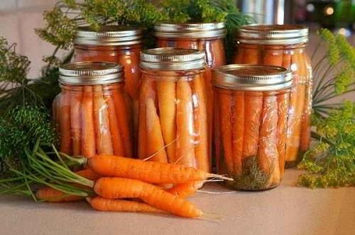 морковь маринованная на зиму