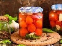 ну очень вкусные маринованные помидоры черри