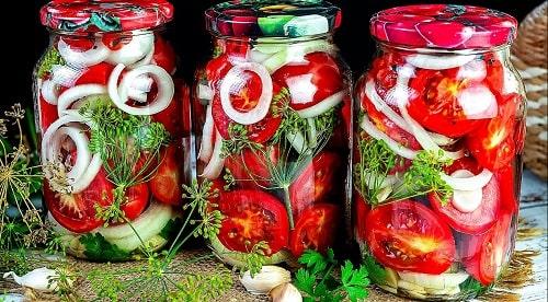 помидоры по-фински на зиму