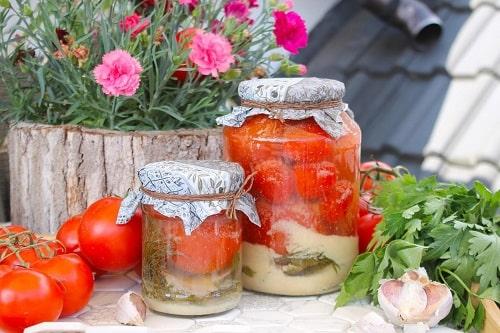 помидоры с горчицей на зиму рецепты