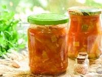 салат из кабачков с перцем и помидорами рецепт
