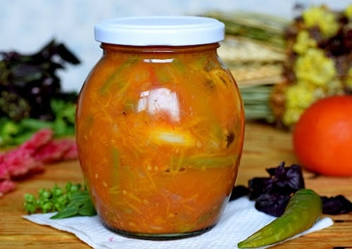 салаты из стручковой фасоли рецепт