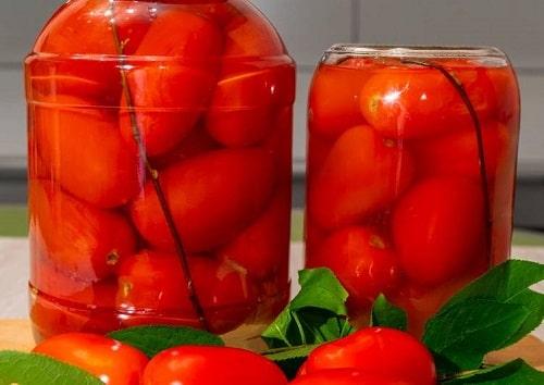 сладкие маринованные помидоры рецепт на зиму