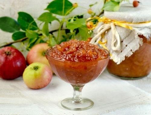 яблочное варенье рецепты