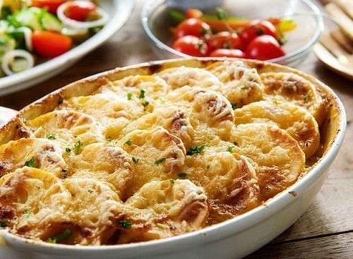 гратен из картофеля – классический рецепт в духовке