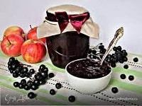 как варить варенье из черноплодной рябины с яблоками
