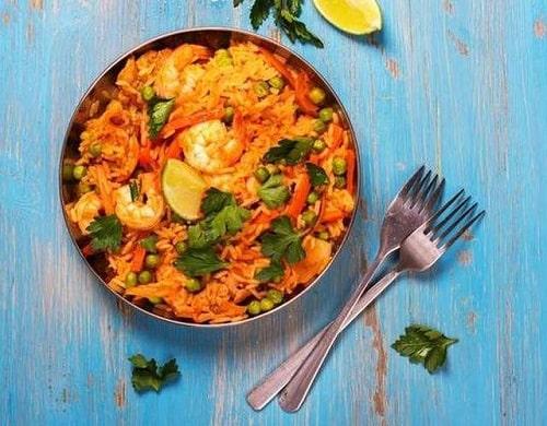 паэлья с курцей рецепт с морепродуктами