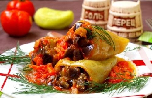 перец фаршированный овощами рецепты