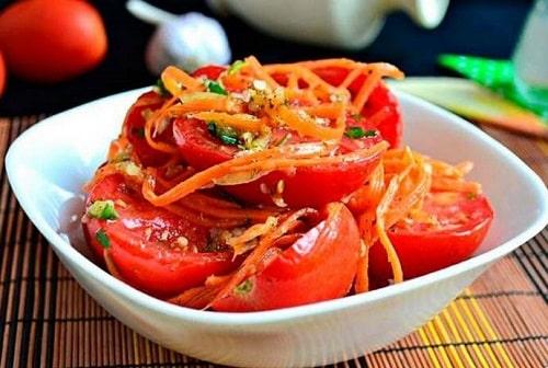 помидоры по-корейски на зиму рецепты