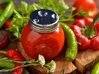 Соус из помидоров с базиликом на зиму - рецепт с чесноком