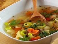 суп из замороженных овощей рецепт