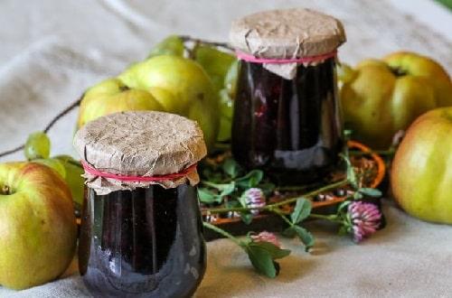 варенье из черноплодной рябины с яблоками рецепты