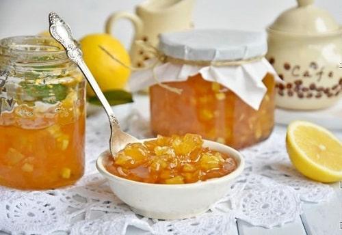 варенье из яблок с лимоном рецепты