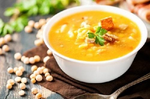 гороховый суп пюре с ребрышками
