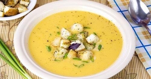 гороховый суп пюре со сливками