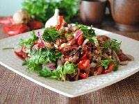 как приготовить салат Тбилиси рецепты