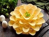 как приготовить салат хризантема