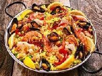 паэлья с морепродуктами классический рецепт