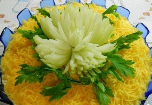 рецепт хризантемы