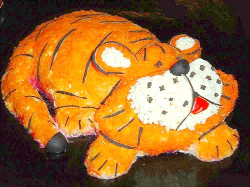 салат тигр рецепт